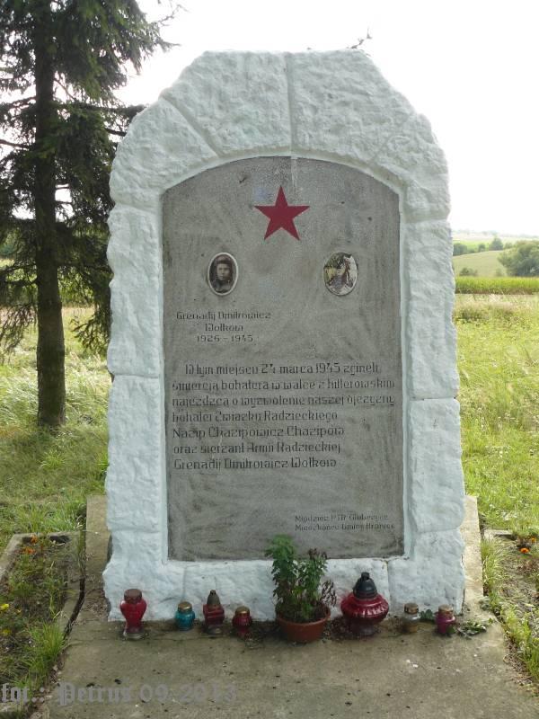 Pomnik Czołgistów Sowieckich w Dzbańcach